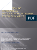 Application of Horizontal  Multilateral  Extended reach  Slim wells.pptx