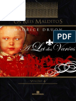A Lei Dos Varoes - Maurice Druon
