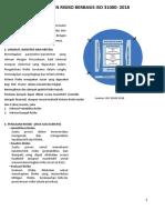 Penjelasan Proses Manajemen Risiko ISO 31000 - 2018 TF