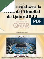 Leopoldo Lares Sultán - Conoce Cuál Será La Fecha Del Mundial de Qatar 2022