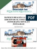 Juan Carlos Escotet - Banesco Realiza La Quinta Edición de Su Concurso de Fotografía Móvil en Instagram