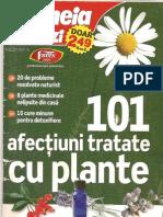 101 Afectiuni Tratate Cu Plante