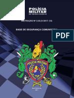 Instrucao n. 3.03.21-2017-CG - Base de Seguranca Comunitaria