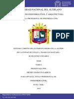 Analisis de Los Criterios de Diseño de Pavimento Rigido Bajo La Optica Especial de San Andres Isl