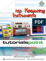 Electronic Measuring Instruments Tutorial