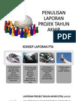 Slide Panduan Penulisan Laporan PTA Edisi 2018