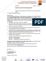 Surat Edaran Sertifikasi IPP