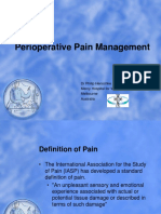 Philip Henschke - Perioperative Pain Management in Newborn Infants