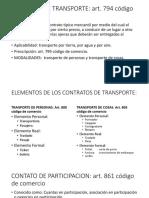 Contrato de Transporte 2