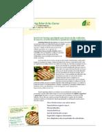 Formato de Carta Para Catering - Menus Ejecutivos