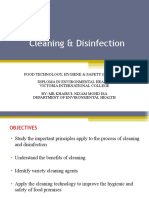 Cleaning & Disinfection