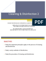 Cleaning & Disinfection 2
