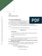 Torrelodones. Orden del día del Pleno 4 de octubre de 2.010