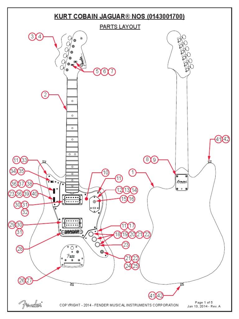 Fender Jaguar B Wiring Kit - Wiring Diagram K9 on