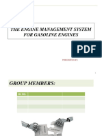 The Engine Management System for Gasoline Engines