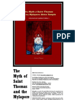 The Myth of Saint Thomas and the Mylapore Shiva Temple (2010) - Ishwar Sharan