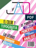 Revista diseño publicitario (proyecto estudiantil)
