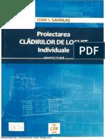 Proiectarea Cladirilor de Locuit Individuale i Gavrilas