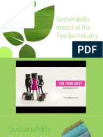 sustainability - impact of the textiles industry