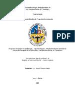 Programa Formativo de Salud Sexual y Reproductiva