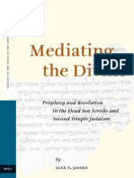 Jassen, A.P., Mediating the Divine - Prophecy and Revelation in the Dead Sea Scrolls and Second Temple Judaism