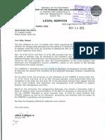 DILG Legal Opinion 2012-101