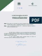 Note Dgi Relative Aux Avantages Fiscaux de Cfc (1)