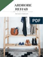 Wardrobe Rehab-Rearanjare Garderoba