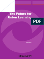 The Future for Union Learning