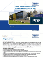 Creo Elements Direct Model Manager 18