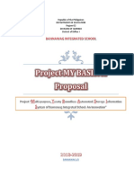 Project My Basis