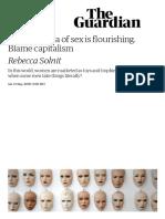 A Broken Idea of Sex is Flourishing. Blame Capitalism _