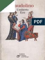 Umberto Eco - Baudolino Cap 1 y 2 (2001)