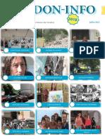 le pdf du mois de juillet  de l'Association verdon info
