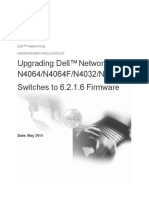 Upgrading Dell Networking N4000 Series Switches From Version 6.x.x.x to 6.2.1.6 Firmware