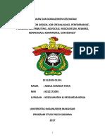 09-Mkk-k3-2017-Abdul Komsar Tona-job Analysis, Job Design, Job Spesialisasi, Performance, Promosi, Contributing, Advokasi, Negosiasion, Reward, Kompensasi, Confirma