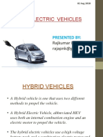 Hybrid Vehicle RAJKUMAR