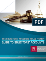 Guide To Solicitors' Account
