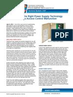Choosing Right Power Supply