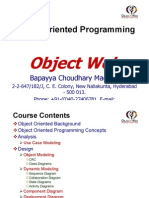 01. Object Web - OOAD I