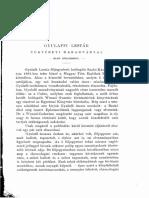 Gyulaffy Lestár krónikája 1. rész