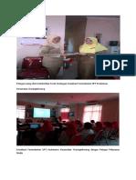 Petugas Ruang Obat Memberikan Surat Undangan Sosialisasi Formularium UPT Puskesmas