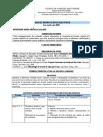 PLANO DE ENSINO DE EDUCAÇÃO FÍSICA 2009