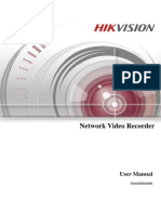 Manual NVR Hikvision DS7108NIE1VWNVR