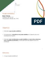 Módulo 05 - Poder Estatístico 20171003