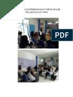 4.1.2.3 Dokumentasi Pembahasan Umpan Balik