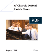 St Giles Church , August 2018 Parish News