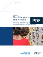 The Disappeared and Invisible