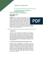 Martínez y Marí (2002)-La Escuela Latinoamericana de Pensamiento en Ciencia, Tecnología y Desarrollo