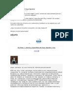 Historia y Especifidad Del Grupo Operativo